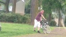 Quand tu fais du vélo complètement bourré