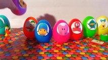Surprise eggs unboxing toys Pocoyo and friends eggs suert546546a con ju