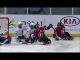 Highlights - Semi-finals Canada v Czech - 2013 IPC Ice Sledge Hockey World Championships A-Pool.
