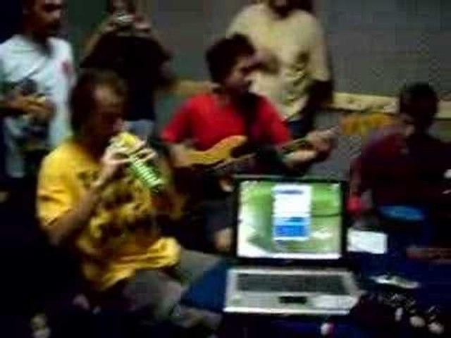 Acústicos en Otra vuelta - Aztecas Tupro - Los 4 elementos