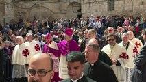 مسيحيو القدس يحتفلون بعيد الفصح في كنيسة القيامة