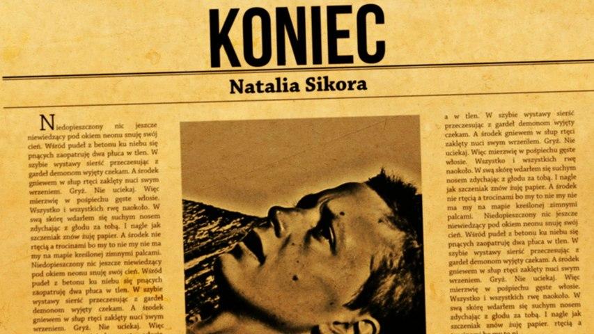 Natalia Sikora - Koniec. (Lyric Video)