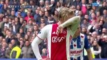 Kasper Dolberg Goal HD - Ajax 4-1 Heerenveen - 16.04.2017
