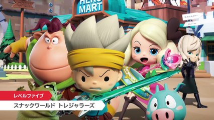 The Snack World: Trejarers : Nintendo Direct trailer