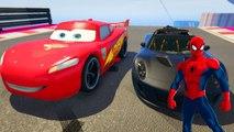 Joker Motoru Bozuyor Şimşek McQueen Roket Arabaya Meydan Okuyor Çizgi Film Gibi