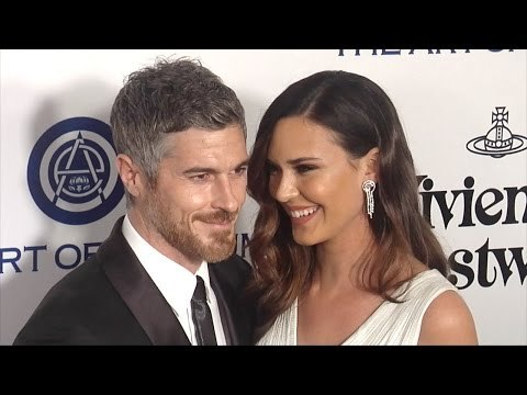 Odette Annable & Dave Annable The Art of Elysium 2016 HEAVEN Gala Red Carpet