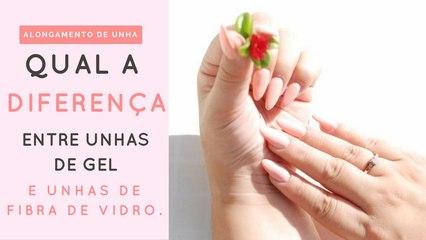UNHAS DE GEL E UNHAS DE FIBRA DE VIDRO - ACRILYC NAIL