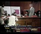 Are IRAs Protected from Creditors, Safe, FDIC Insured? Greenspan on Fully Deductible IRAs (1991) part 1/3