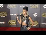 "Janelle Monáe ""Star Wars The Force Awakens"" World Premiere"