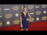 """Kelly Rohrbach """"Star Wars The Force Awakens"""" World Premiere"""