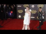 "Jaime King ""Star Wars The Force Awakens"" World Premiere"