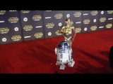 "R2-D2 and C-3PO ""Star Wars The Force Awakens"" World Premiere"