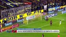 Resumen: Boca Juniors 1-1 Patronato - Primera Division 2017