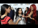 "Hip Hop Legends Salt-N-Pepa Interview ""Growing Up Hip Hop"" Premiere in NYC"