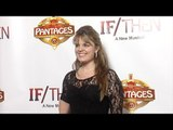 Kimberly J. Brown IF/THEN Los Angeles Premiere Red Carpet at Hollywood Pantages