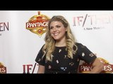 Molly Tarlov IF/THEN Los Angeles Premiere Red Carpet at Hollywood Pantages