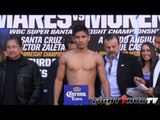 Abner Mares vs. Anselmo Moreno: Full weigh in (HD)