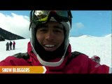 Arley Velasquez on how his sit ski works - Snow Bloggers - 2013 IPCAlpine Skiing Worlds
