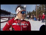 Cross-country skiing long distance sitting - 2013 IPC Nordic Skiing World Championships Solleftea