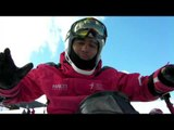 Arley Velasquez explica el sit-ski - Snow Bloggers - 2013 IPC AlpineSkiing World Championships