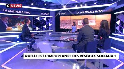 Yann Bonnet invité de La Matinale Info sur Cnews