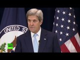 Kerry: 2-state solution only way for peace between Israelis & Palestinians, now in jeopardy (Live)