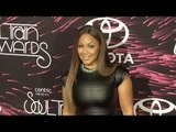 """Erica Campbell """"Soul Train Awards 2015"""" Red Carpet"""