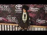"Janelle Monae ""Soul Train Awards 2015"" Red Carpet"