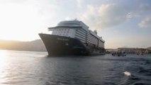 Kuşadası'na Sezonun Ilk Transatlantik Gemisi Geldi