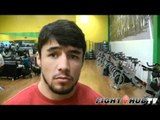 """UFC featherweight Diego Nunes """"Siver has power but I am more precise"""""""