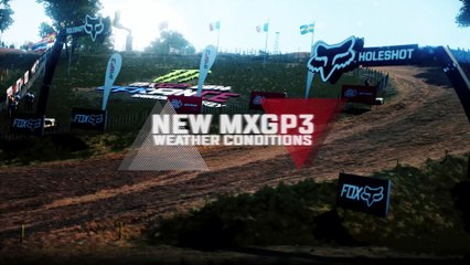 Weather Conditions Trailer de MXGP 3 : The Official Motocross Videogame