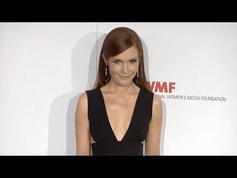 Darby Stanchfield // Courage In Journalism Awards 2015 Arrivals