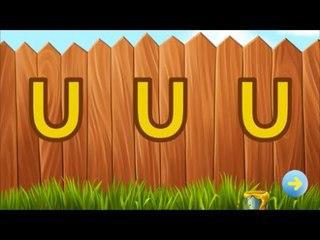 Write Letter Learn Alphabet Animal part 3