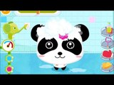 Baby Panda Bath Time   Help Little Panda and Little Bunny to take a bath