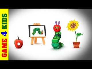 My Very Hungry Caterpillar - Eat fruit, grow flower, pay ball and ballon be a Butterfly