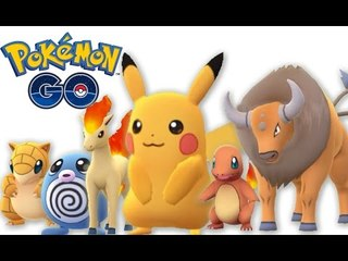 Pokemon Go Catch Pikachu as First Pokemon and other rare pokemon | Gameplay from 0 to level 8