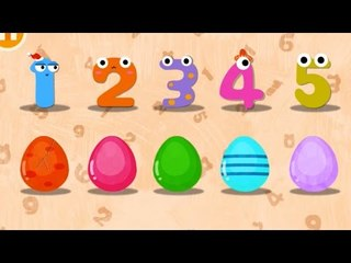 Learn to Write Number 0 to 9 with Magic Number - Surprise Eggs
