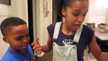 Bad Baby Roach In Peanut Butter ATTACKS! - Giant Roach Invasion - Shasha and Shiloh
