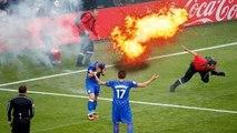 Top 10 Firecrackers, Bomb, Grenade At Players - Goals football - top goals - Best top 10 goals  Best top 10 goals  Best