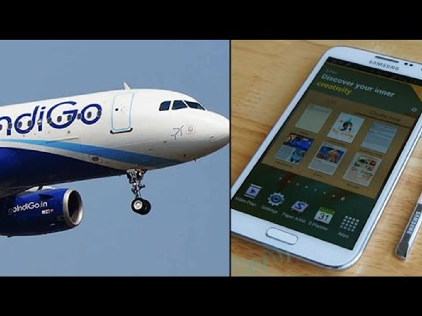 Samsung Note2 phone catches fire on Singapore-Chennai IndiGo flight | Oneindia News