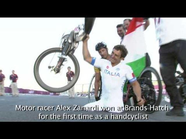 No. 1 Moment of Year: Alex Zanardi winning at Brands Hatch