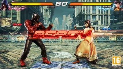 Jin VS Xiaoyu (Character Gameplay) de Tekken 7