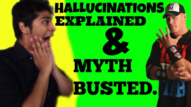 What is a hallucination ? why do we hallucinate ?