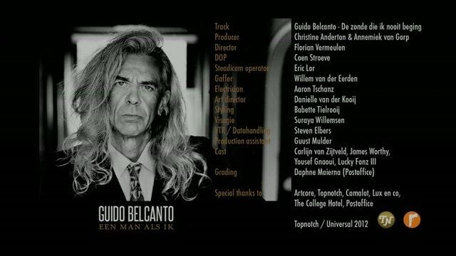 Guido Belcanto - De Zonde Die Ik Nooit Beging