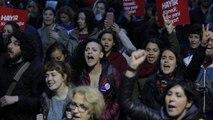 Διαδηλώσεις κατά του Ερντογάν σε Κωνσταντινούπολη, Άγκυρα, Αττάλεια