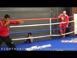 Rafael Marquez vs. Toshiaki Nishioka: Rafael Marquez Workout For Toshiaki Nishioka