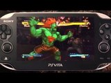 Street Fighter X Tekken PS Vita : Captivate 2012 trailer