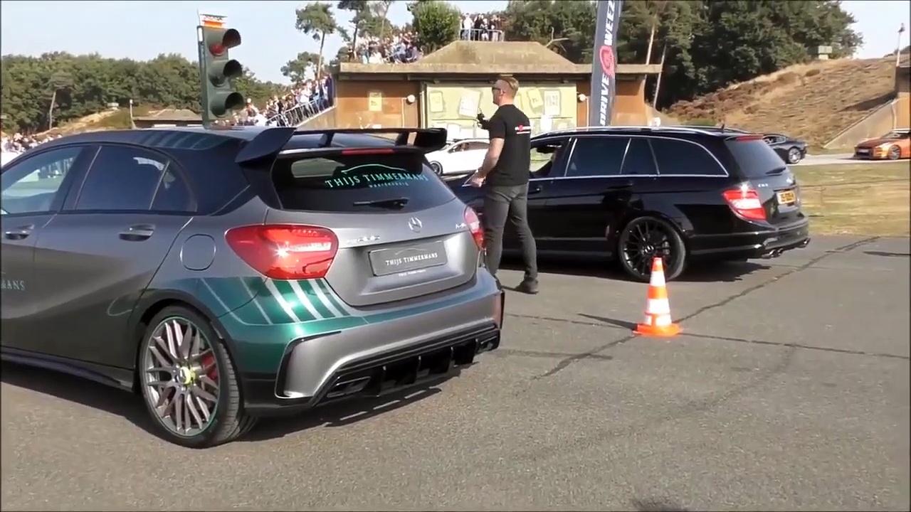 Mercedes-Benz A45 AMG vs. Mercedes-Be
