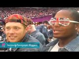Michelle Stilwell - Closing Ceremonies London 2012, Paralympics 2012