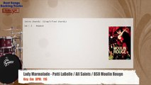 Lady Marmalade - Patti LaBelle / All Saints / BSO Moulin Rouge Drums Backing Track